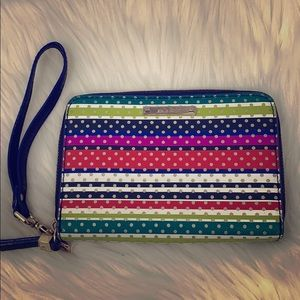 "Stella And Dot ""Chelsea"" Wrist Wallet Multicolor"